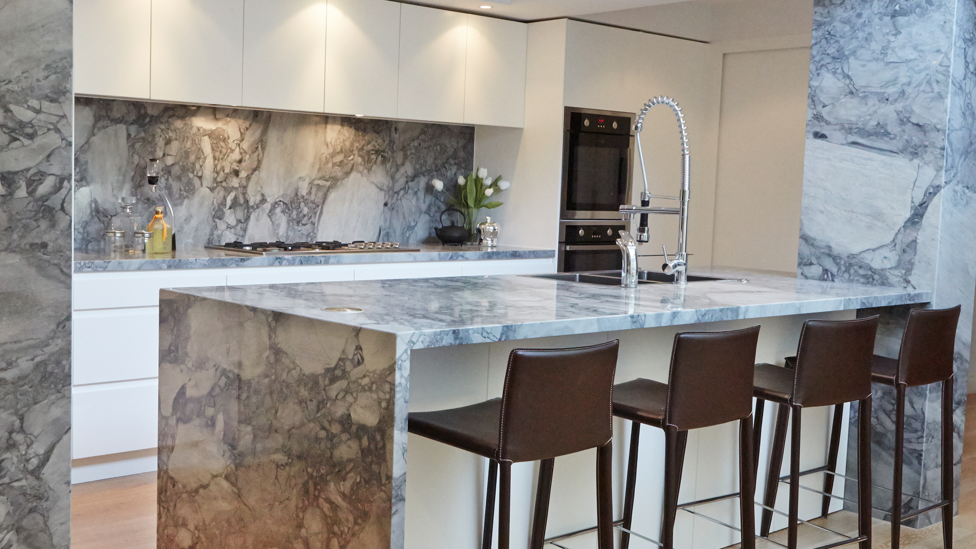 REFRESHINGLY DIFFERENT KITCHENS IN EVERY SENSE